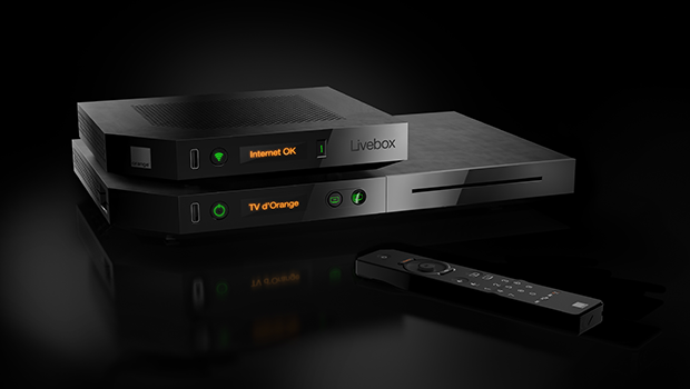 Livebox Play et décodeur TV Bluray
